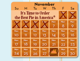It's Time to Order the Best Pie in America®